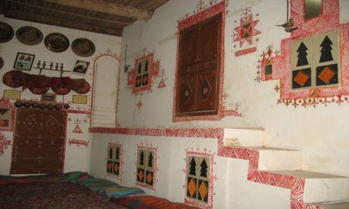 Zdjecie LIBIA / środkowa LIbia / Libia / mieszkanie berberyjskie