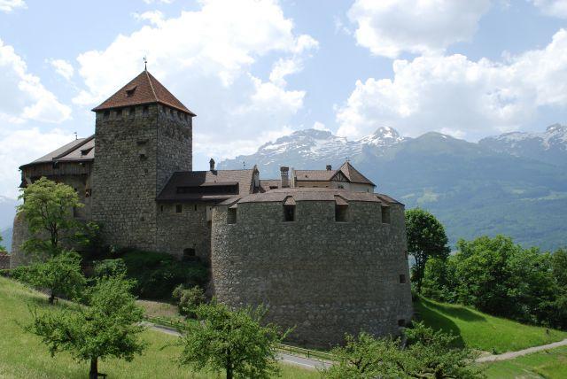 Zdjęcia: Vaduz , Vaduz , Zamek w Vaduz, LIECHTENSTEIN