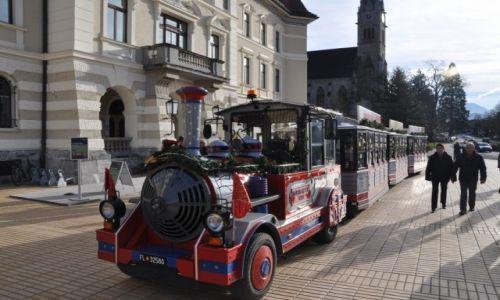LIECHTENSTEIN / Vaduz / Centrum / Kolejka turystyczna