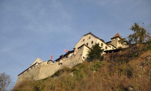 LIECHTENSTEIN / Vaduz / Centrum / Zamek księcia Jana Adama II