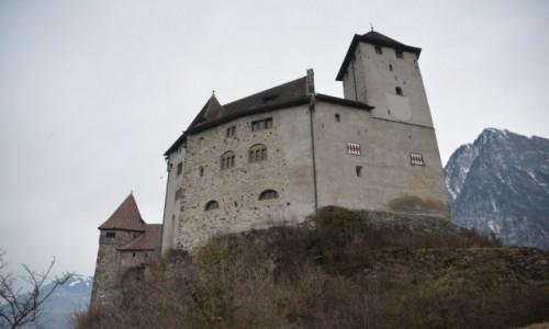 Zdjecie LIECHTENSTEIN / Oberland / Balzers / Zamek Burg Gutenberg
