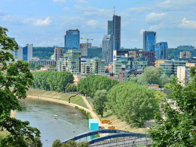 Zdjęcia: Wilno, Litwa, Wieżowce stolicy, LITWA