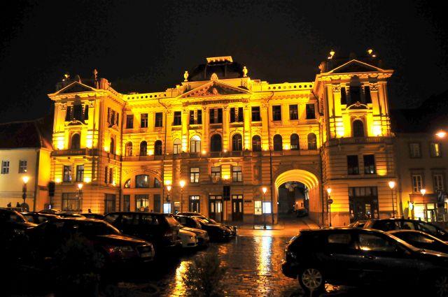 Zdjęcia: Wilno, Wilno, Wilno nocą, LITWA
