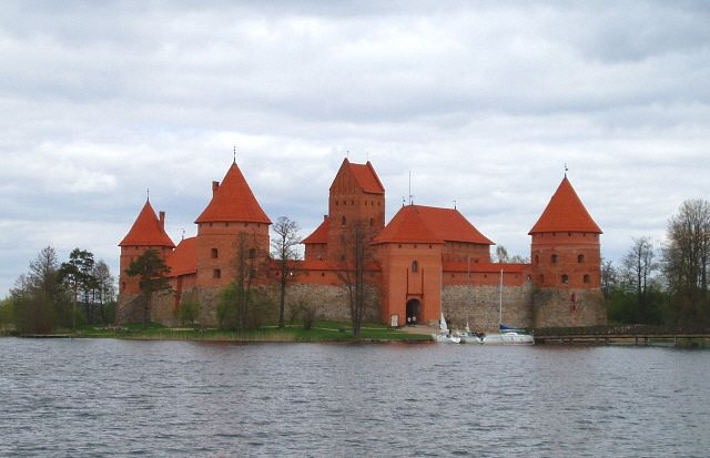 Zdjęcia: Troki, Zamek w Trokach, LITWA