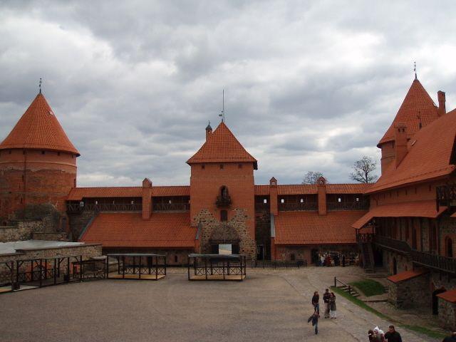 Zdjęcia: Troki, Wileńszczyzna, Zamek w Trokach, LITWA