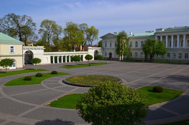 Zdjęcia: Wilno, Pałac prezydencki, LITWA