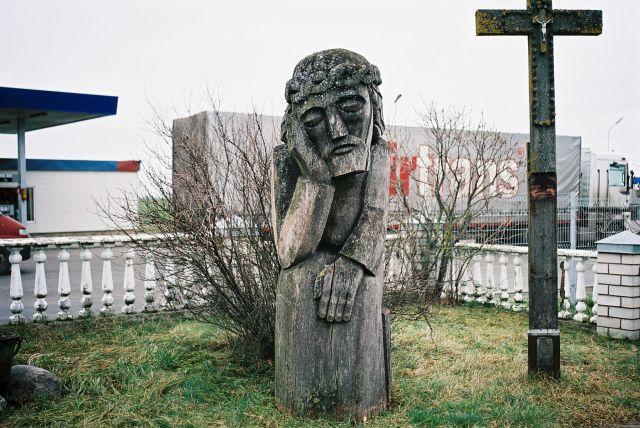 Zdjęcia: Przy trasie północ połódnie, Srodek kraju, Rzezba, LITWA