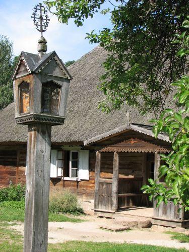 Zdj�cia: Rumszyszki, Skansen w Rumszyszkach, LITWA