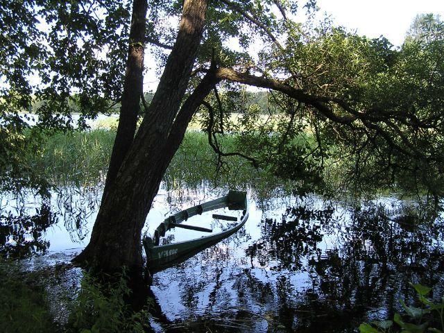 Zdjęcia: Troki, Jeziorko w Trokach, LITWA