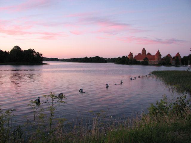 Zdjęcia: Troki, Wczesnym wieczorem ..., LITWA