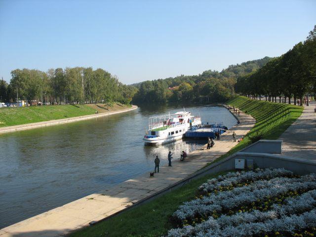 Zdjęcia: Wilno, Nad Wilią, LITWA