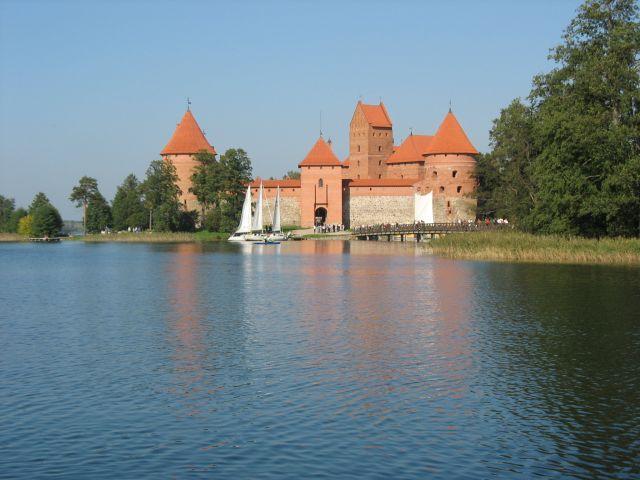 Zdjęcia: Troki, Zamek na wodzie..., LITWA