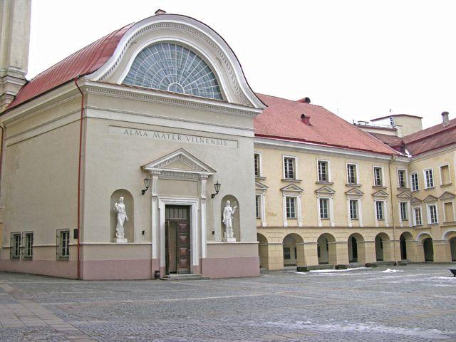 Zdjęcia: Wilno, Uniwersytet, LITWA