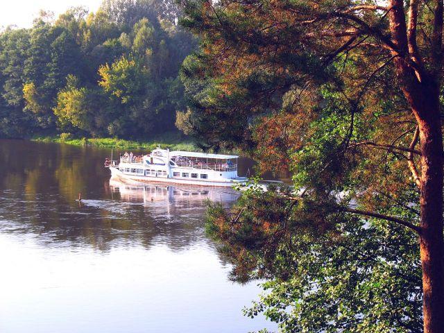Zdjęcia: DRUSKIENNIKI, Na szlaku wodnym, LITWA