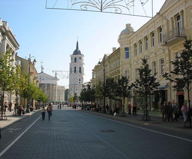 Zdjęcia: Wilno, Prosto do Katedry, LITWA