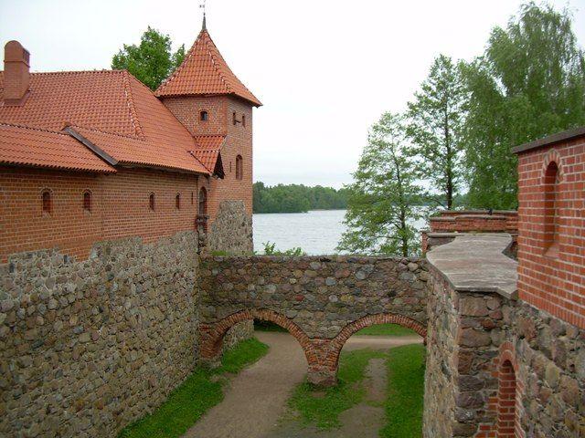 Zdjęcia: zamek, Troki, Zamek w Trokach, LITWA