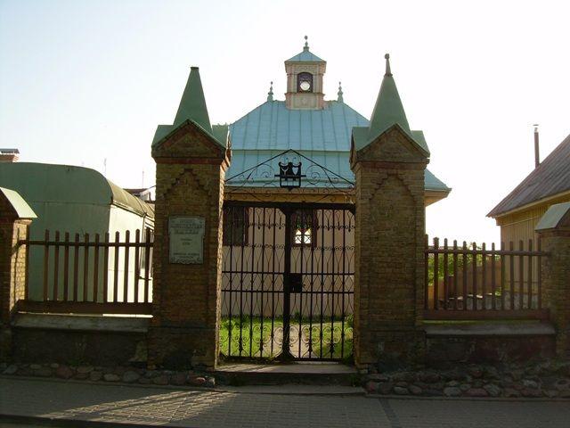 Zdjęcia: Troki, Kienesa - świątynia karaimska, LITWA