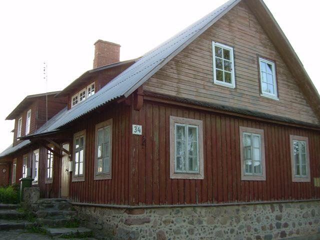 Zdjęcia: Troki, Tradycyjny dom karaimski, LITWA