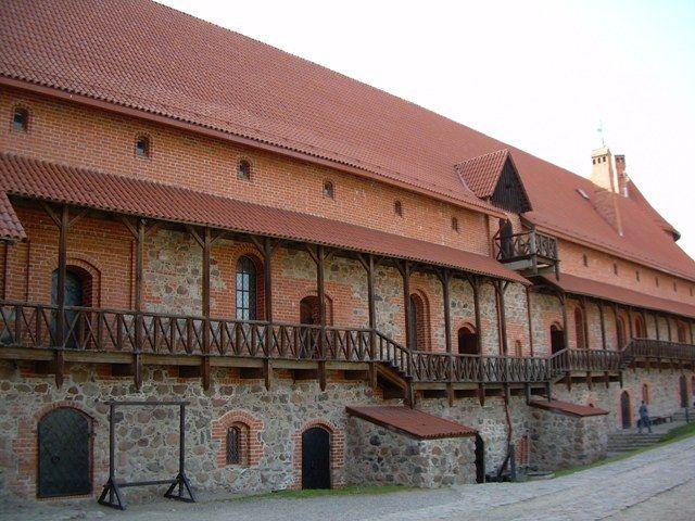 Zdjęcia: Zamek, Troki, Dziedziniec w Trokach, LITWA