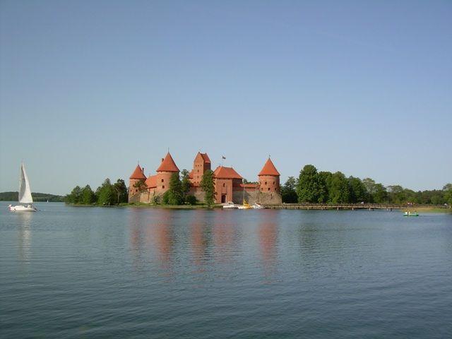 Zdjęcia: Troki, Zamek , LITWA