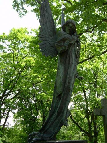 Zdjęcia: Cmentarz Rossa, Wilno, Anioł Śmierci, LITWA
