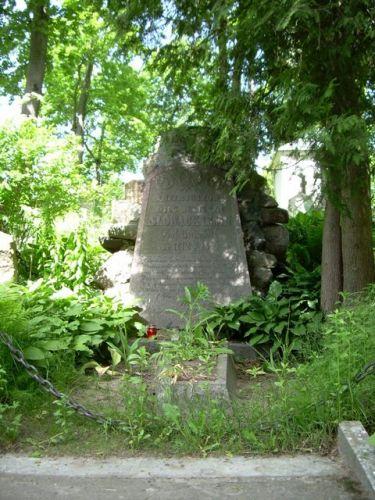 Zdjęcia: Cmentarz Rossa, Wilno, Grób ojca Juliusza Słowackiego, LITWA