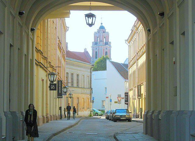 Zdjęcia: Wilno, Wileńska uliczka, LITWA