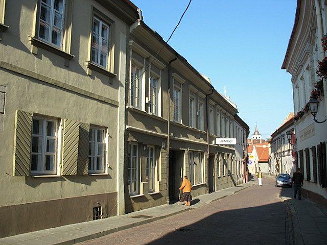 Zdj�cia: Wilno, W tej uliczce mieszka� Adam Mickiewicz, LITWA