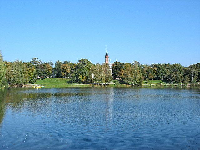 Zdjęcia: Druskienniki, Nad jeziorem, LITWA
