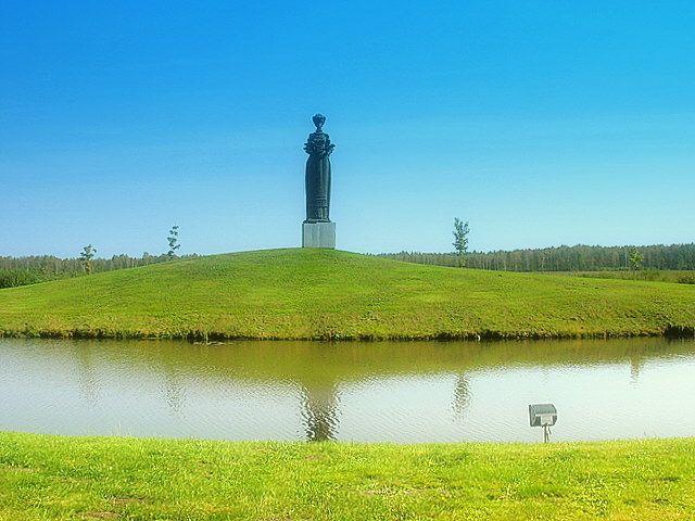 Zdjęcia: Druskienniki, Pomnik Wdzięczności, LITWA