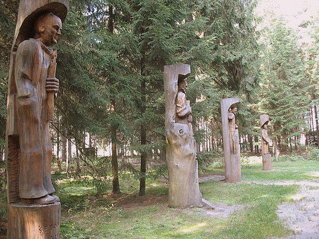 Zdjęcia: Druskienniki, -Grutas Park, Straceńcy, LITWA