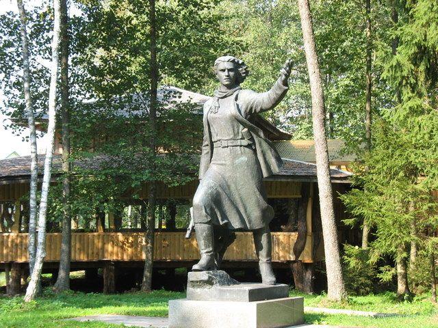 Zdjęcia: Druskienniki, -Grutas Park, Bojowniczka..., LITWA
