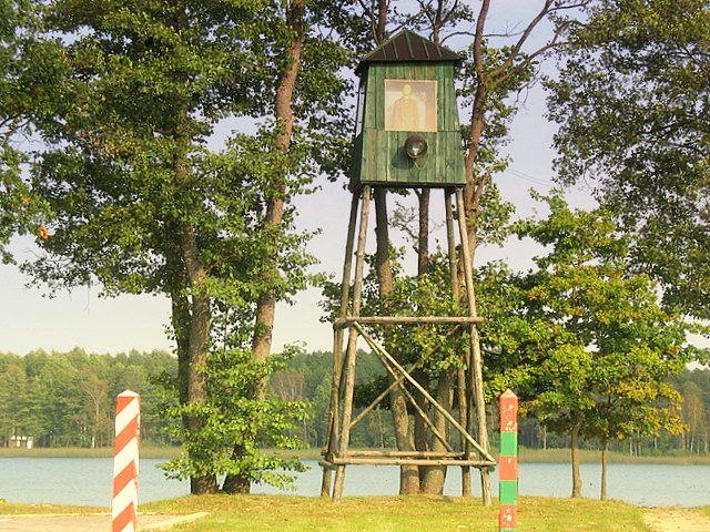Zdjęcia: Druskienniki, -Grutas Park, Mam Cię na oku..., LITWA
