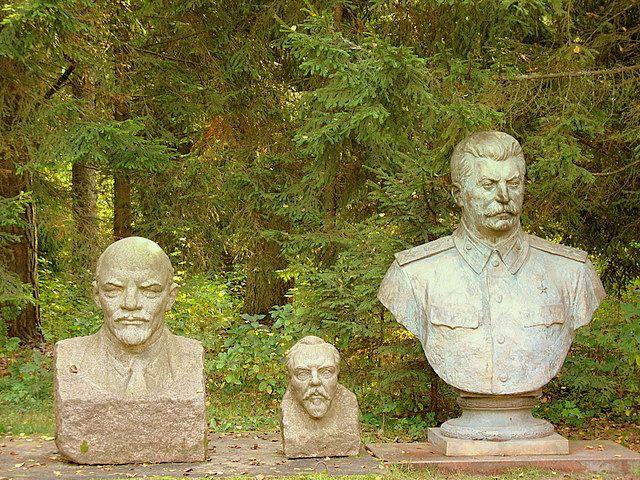 Zdj�cia: Grutas Park/Druskienniki, Przyjaciele..., LITWA