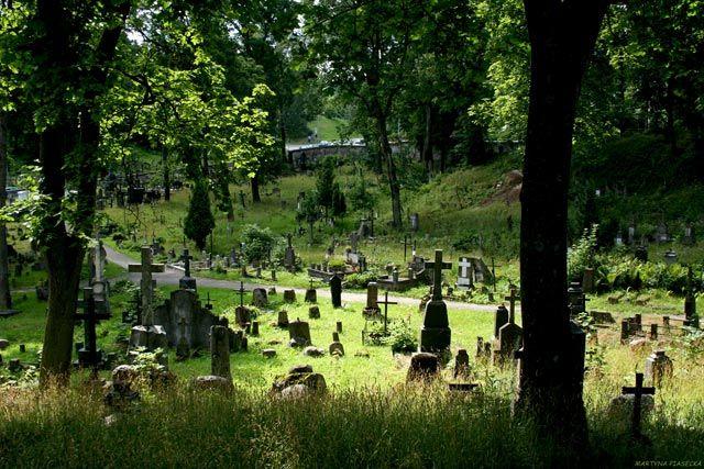 Zdjęcia: Rossa, Wilno, Cmentarz, LITWA