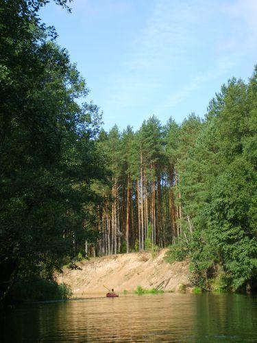 Zdjęcia: Pojezierze Auksztocke, Ausztota, Żejmena, LITWA