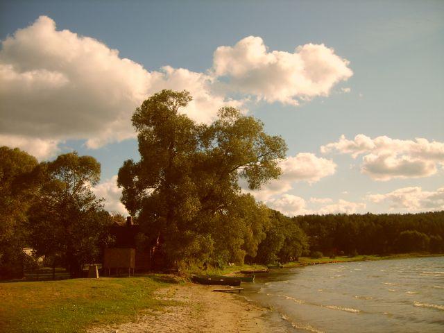 Zdjęcia: Pojezierze Auksztockie, Auksztota, Na brzegu, LITWA