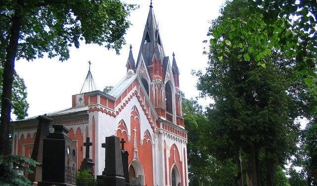 Zdjęcia: Wilno, kaplica cmentarna na Rossie, LITWA