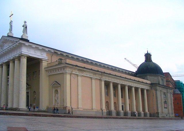 Zdjęcia: Wilno, Wilno, Katedra św Stanisława, LITWA