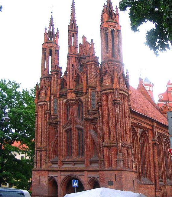 Zdjęcia: Wilno, Wilno, Kosciół św. Anny, LITWA