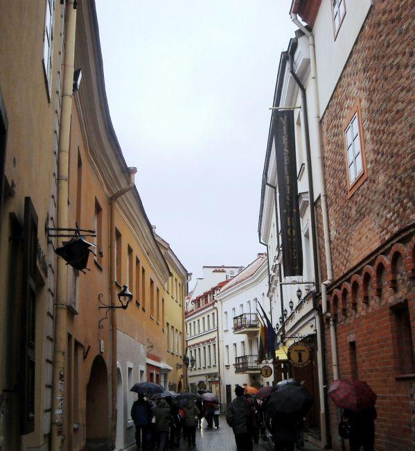 Zdjęcia: Stare Miasto- Dzielnica Żydowska, Wilno, jesienne Wilno- jedna z uliczek, LITWA