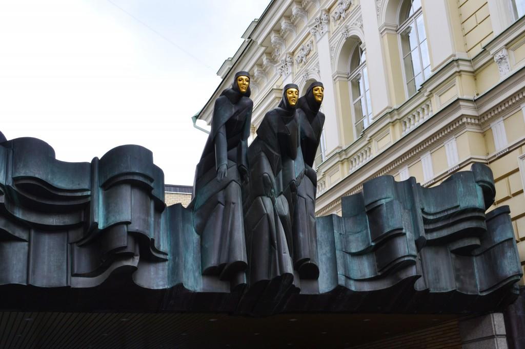 Zdjęcia: Wilno, okręg wileński, Trzy Muzy, LITWA