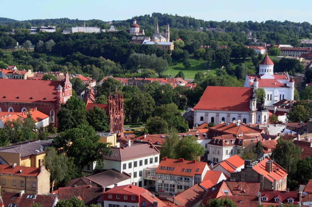 Zdjęcia: starówka miasta, ***, Wilno, LITWA