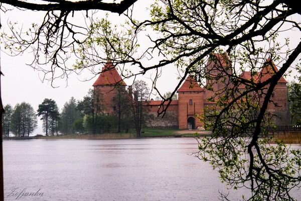 Zdjęcia: Troki, Zamek, LITWA