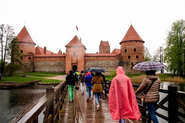 Zdjęcia: Troki, W  deszczu, LITWA