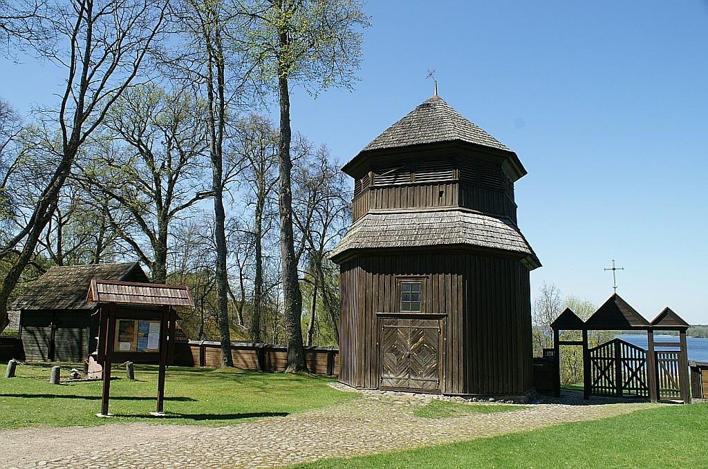 Zdjęcia: Paluse, Auksztocki Park Narodowy, kościół św. Józefa - dzwonnica, LITWA