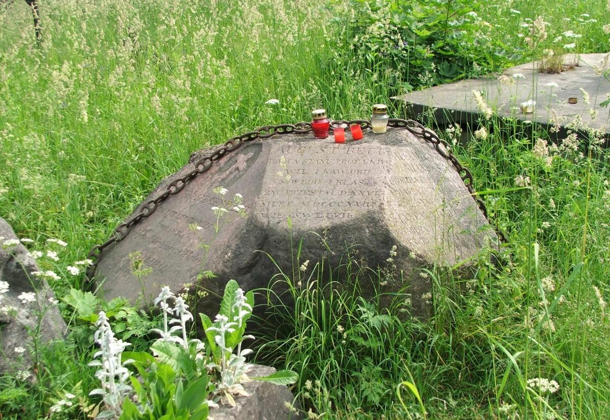Zdjęcia: Wilno, Cmentarz na Rossie, Grób ojczyma Juliusza Słowackiego, LITWA