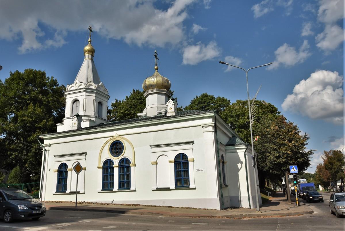 Zdjęcia: Kiejdany, Nizina Środkowolitewska, Kiejdany, cerkiew, LITWA