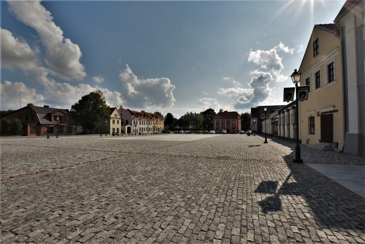 Zdjęcia: Kiejdany, Równina Środkowolitewska, Kiejdany, zakamarki, rynek, LITWA