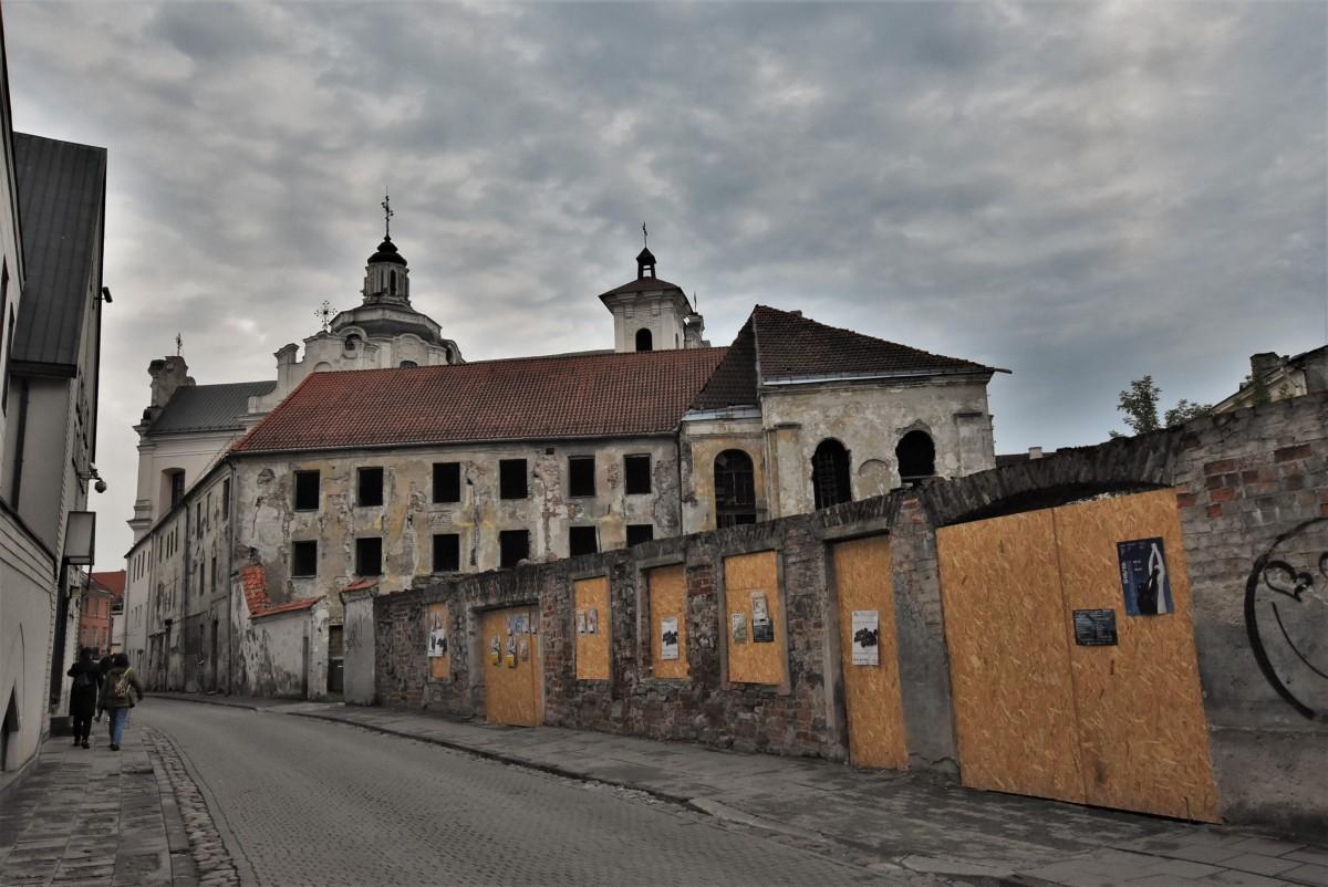 Zdjęcia: Wilno, Pojezierze Wileńskie, Wilno, kościół dominikański i klasztor, LITWA